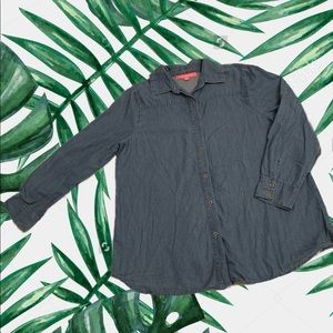 Basic Blue Jean Shirt S: Med.